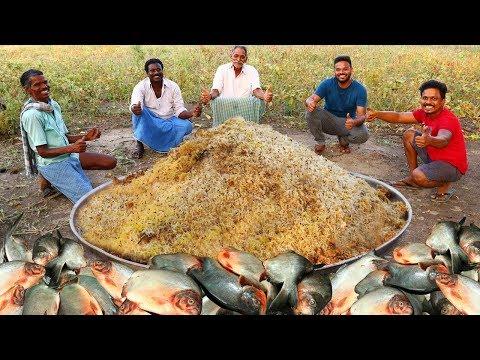 Cumin Rice With Fish Fry Recipe    Easy Jeera Rice And Fried Fish Recipe    Grandpa Kitchen