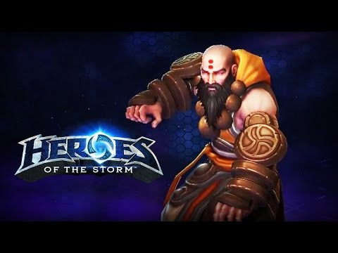 ♥ Heroes of the Storm - Kharazim, The Monk - First Impressions & Theorycrafting