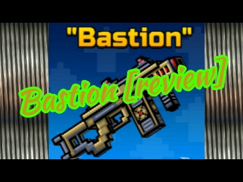 pixel gun how to get bastion
