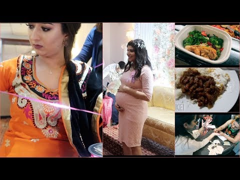 Cousin's Baby Shower || Karvachauth Clips || Our Shopping Day Vlog || Indian Vlogger