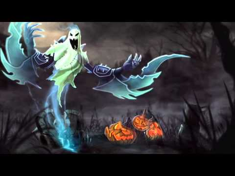 Haunting Nocturne (Harrowing 2011) League Of Legends Login Screen With Music