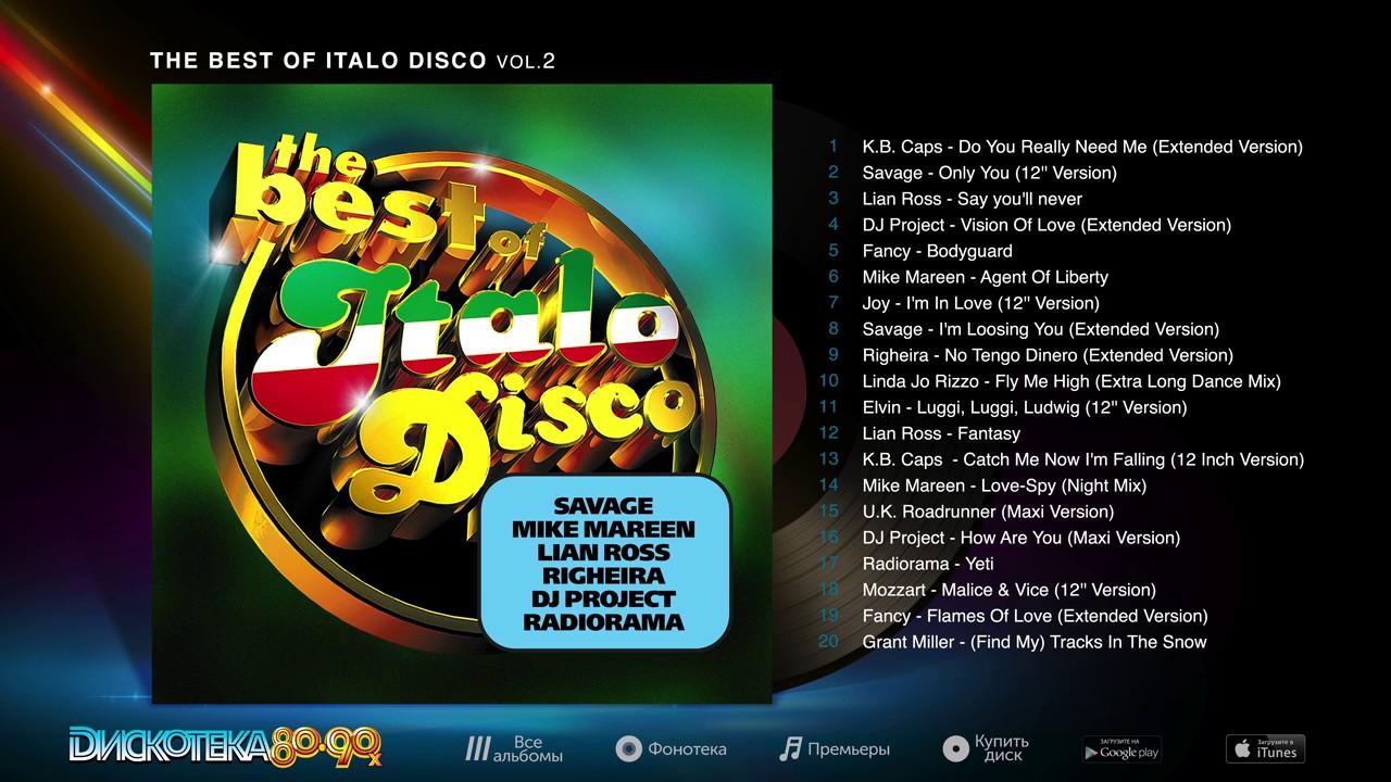 The best of italo disco vol 1 16 скачать