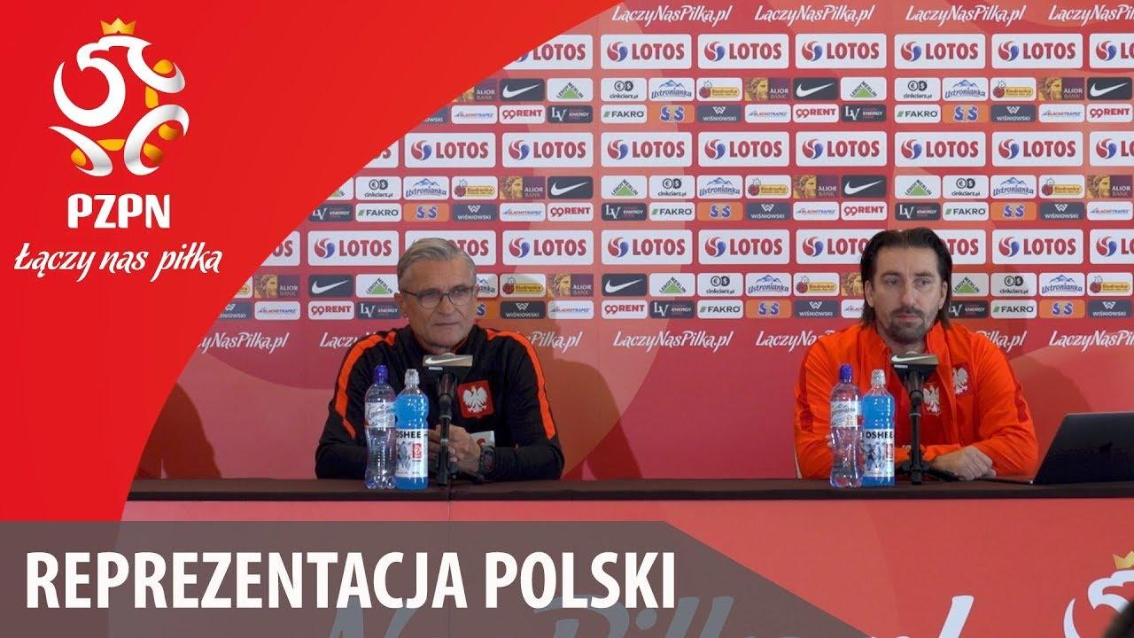 Konferencja reprezentacji Polski (Warszawa, 01.10.2017)
