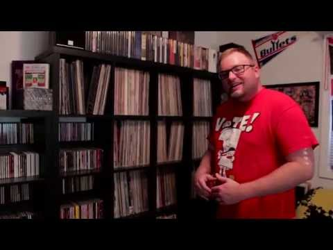 TPE Record Run  The Psych Professors Music Room Tour