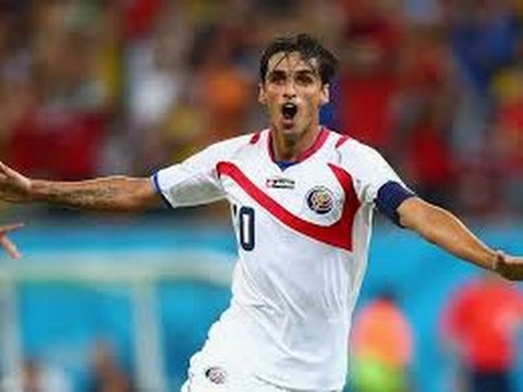 Bryan Ruiz goal for Costa Rica v Italy (World Cup 2014)