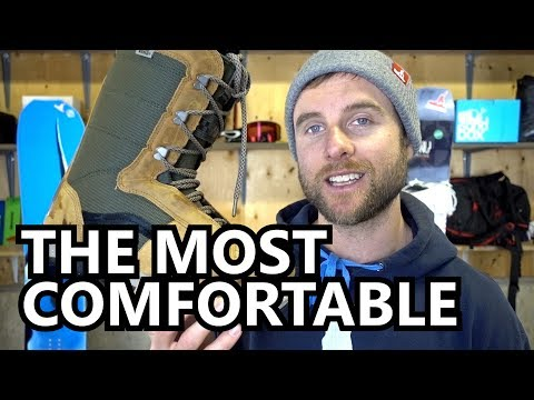 The Most Comfortable Snowboard Boots
