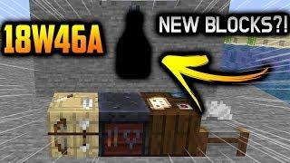 Minecraft UPDATE 1.14 Snapshot 18w46a, NEW BLOCKS?!! What