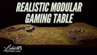 One Day Builds Modular Wargaming Table