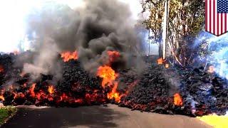 Sinking lava may spark explosive eruption at Kilauea, Hawaii - TomoNews