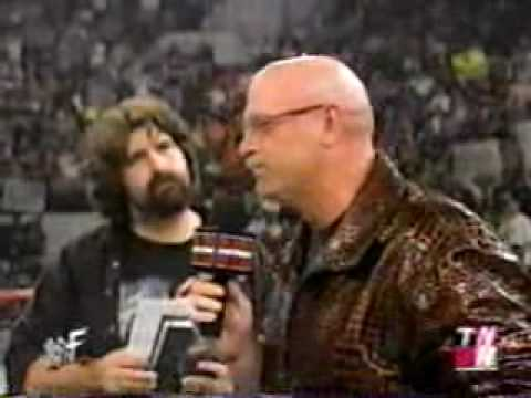 Governor Jesse Ventura at Raw Is War in MPLS 2001