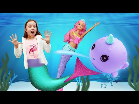 Куклы Барби Dreamtopia! Что умеют эти классные куклы для девочек? Барби приключения русалочки