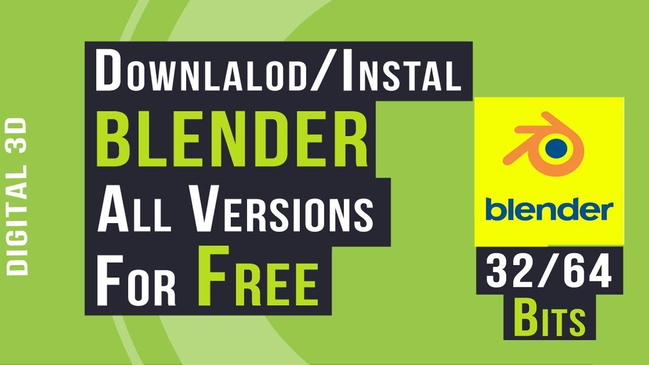 Instal Blender Trial Version