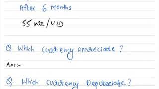 CFA Level 1 | Currency Appreciation / Depreciation | Currency Exchange Rates | Economics