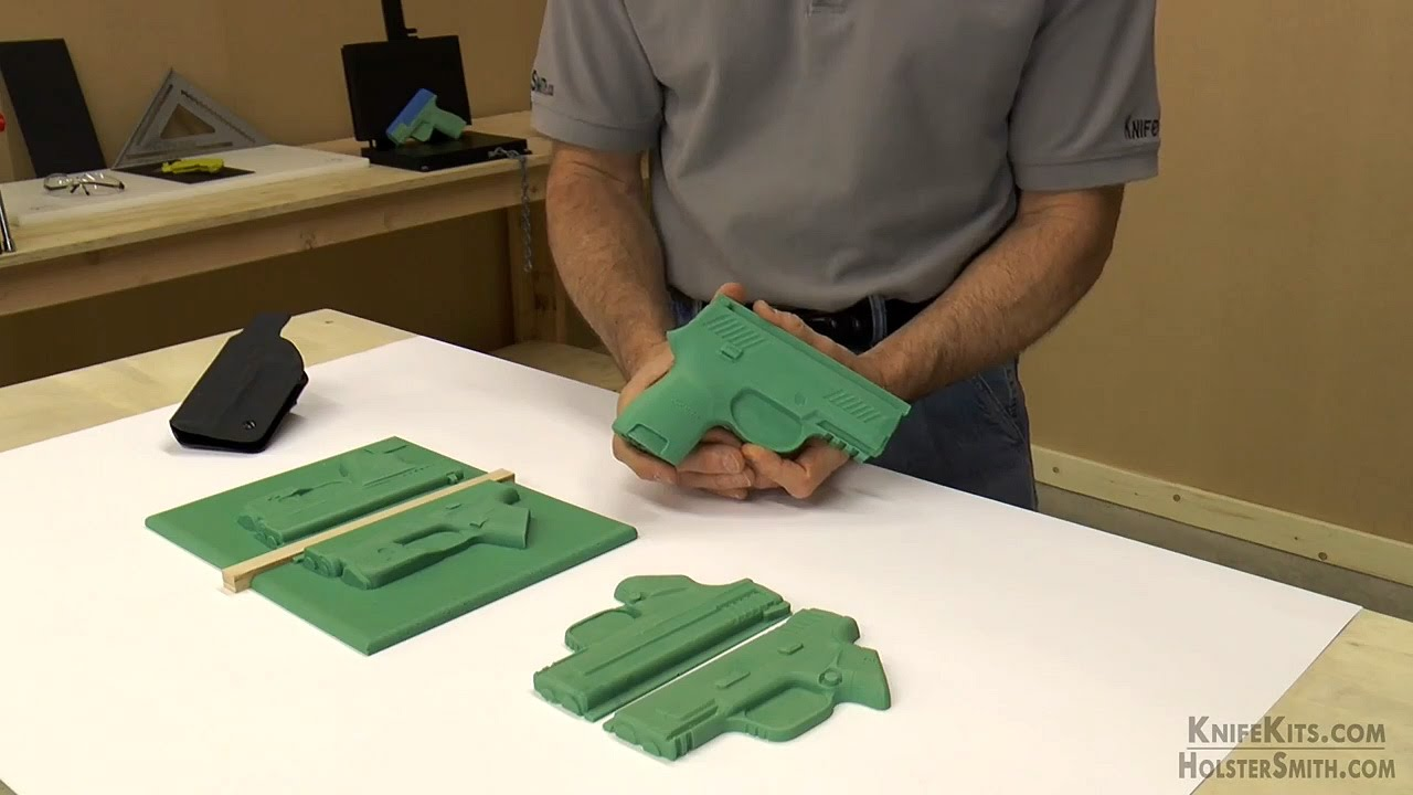 multi mold diy molding props for kydex holstex holster makers