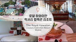 로얄 하와이안 리조트(여심저격 핑크 하와이 호텔) Th…