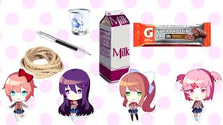 errrbody in the literature club gettin tipsy