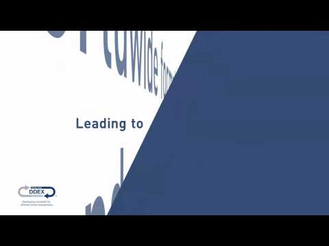DDEX - Developing standards for efficient online transactions
