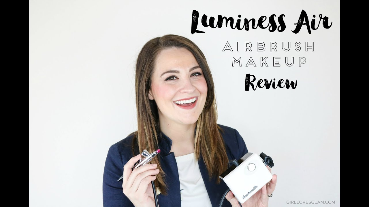 Luminess Air Airbrush Makeup System Review and How to! - YouTube