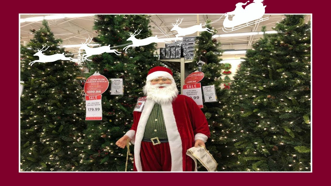 christmas decor shopping at hobby lobby 2018
