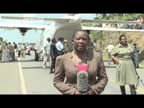 US Plane Crash Lands In Uganda