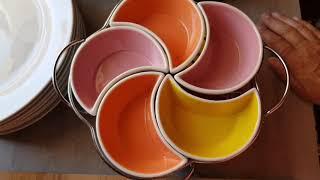 Мои чашки и плошки/Обзор посуды Luminarc/ Обрезка роз