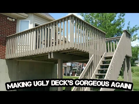 Painting over Peeling, Cracking, deck paint! Independence,KY