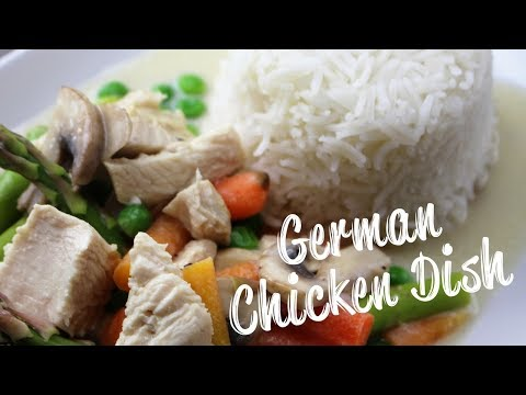 German Chicken Fricassee