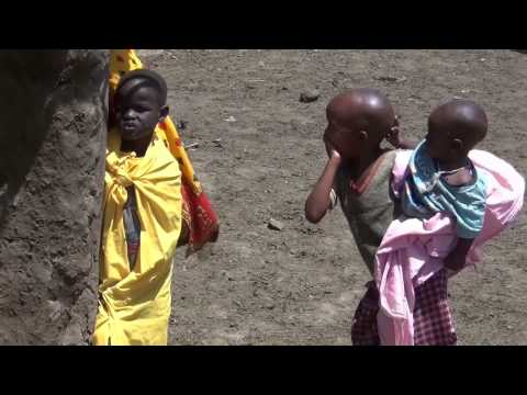 Bushwalk mit Massai