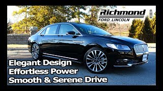 2018 Lincoln Continental Review: Refined Modern Luxury
