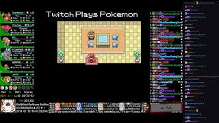 Twitch Plays Pokémon Anniversary Burning Red - Hour 65 to 66