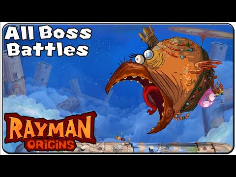 Rayman Origins All Bosses