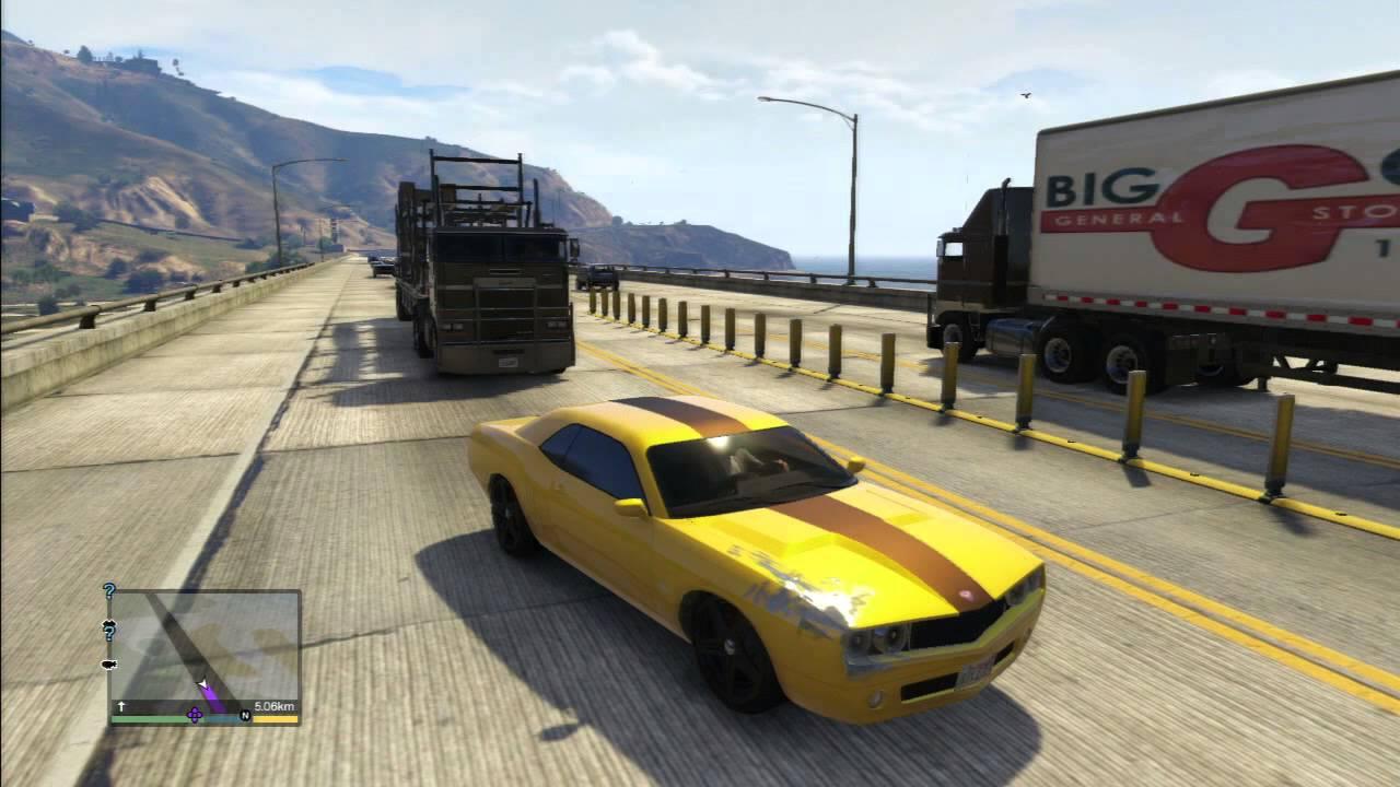 Gta 5 Dodge Challenger Custom Youtube