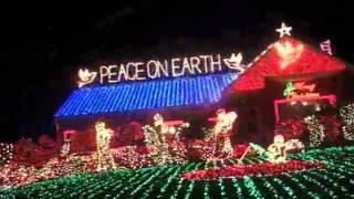vlog of awesome 34 christmas lights tour of ct 12 20 10