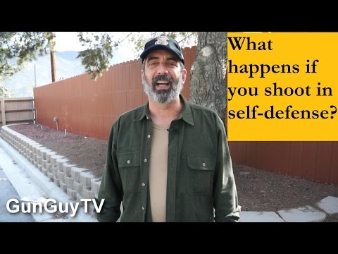 How to stay out of jail after a defensive shooting.