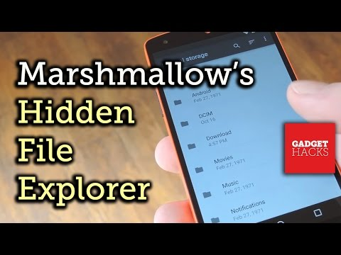 Access Android Marshmallow's Hidden File Explorer [How-To]