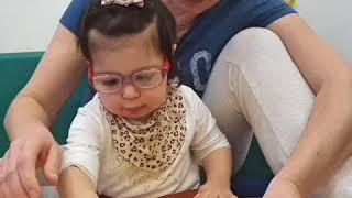 Милена Худоян, 2 года. Диагноз: ДЦП, ЗПРР, Микроделеция 7 хромосомы длинного плеча