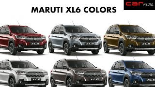 Maruti Suzuki Nexa XL6 All Details Revealed | Ertiga Cross Over| ALL COLORS