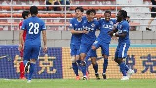 Zhou Zhongting Goal 2016.05.28 R.11  China League Meizhou Kejia 2:1 Shanghai Shenxin