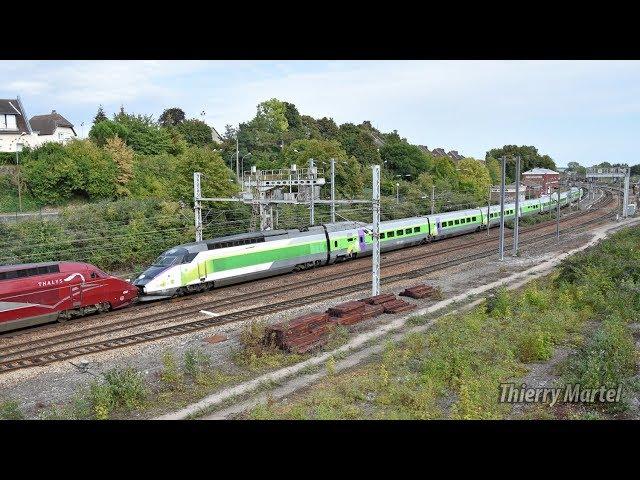 Thalys/Izy TGV PBA (réseau) - rames n° 4551 et 4532