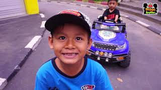 Naik Mobil Mobilan Sambil Belajar Rambu-rambu Lalu Lintas Untuk Anak | Belajar dan Bermain anak