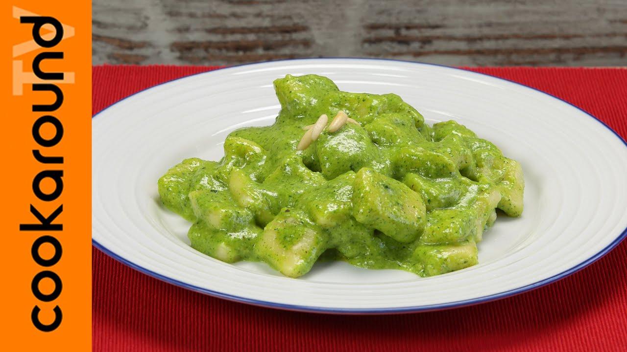 Gnocchi con pesto di zucchine primi piatti facili e for Primi piatti facili