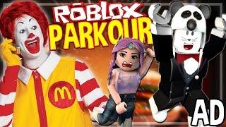 sfuggire l'obesità! | Roblox Parkour w / Vixella