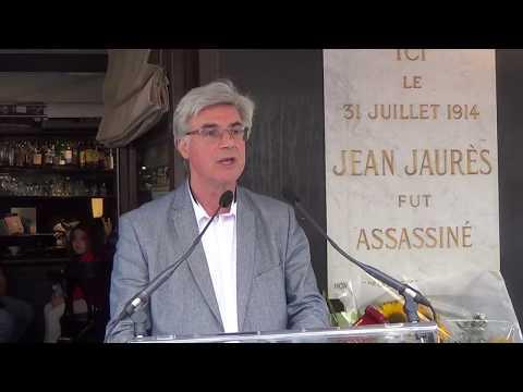 Hommage à Jean Jaurès par Patrick Le Hyaric '(2017)