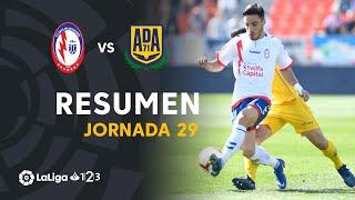 Resumen de CF Rayo Majadahonda vs AD Alcorcón (2-0)