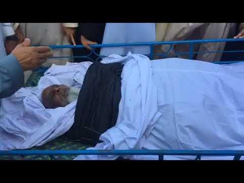 Live Janaza Part 1 Video Of  Haji Maseet Khan Tatar Khel  Village Kotli Kal
