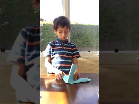 Ryan's paper airplane