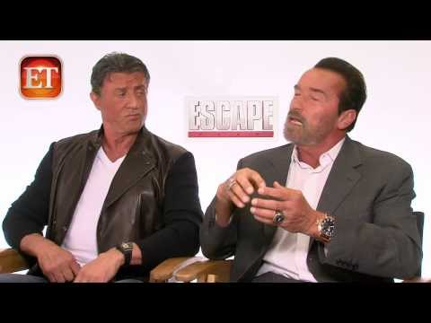 Sly & Arnold Interview (Escape Plan)