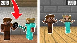 ZENGİN VE FAKİR ESKİ ZAMANLARA GİDİYOR! 😱 - Minecraft
