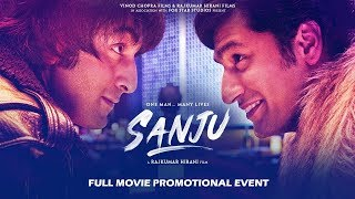 Sanju Movie 2018 Promotional Events    Ranbir Kapoor   Rajkumar Hirani
