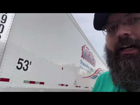 2019 Great Dane trailer I got my hands on 1 to check out. Van trailer company trailer check over